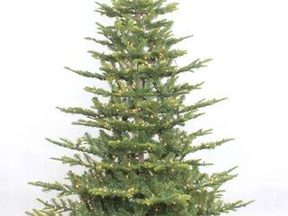 Puleo International 7 5  Pre lit Aspen Green Fir Tree  Retail 285 99