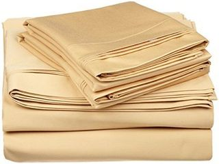 100  Egyptian Cotton 650 Thread Count  California King 4 Piece Sheet Set