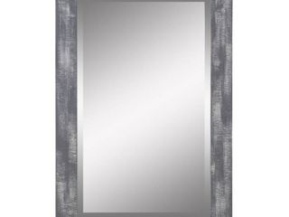 Morris Wall Mirror   Gray 36  x 24  by Aspire