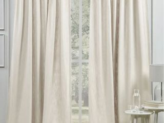 lauren Ralph lauren Vienna light Filtering Back Tab Rod Pocket  2 Curtain Panels
