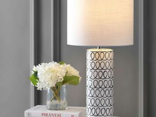Jonathan Y loop 28 75  Ceramic Modern lamp