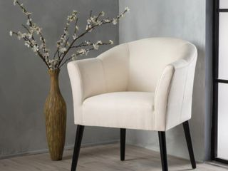 Carson Carrington Augustenborg Fabric Arm Chair  Retail 186 49