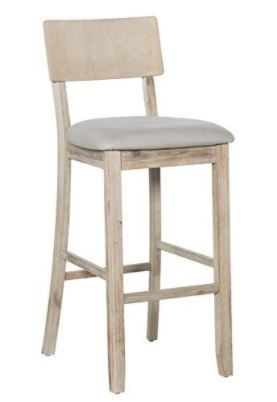 loren Gray Wash Bar Stool  Retail 105 49