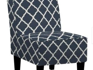 Copper Grove Couvin Armless Chair In Navy