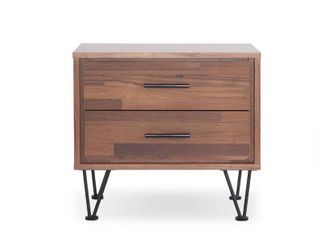 ACME Deoss Nightstand  Walnut