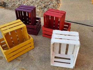 Colored Crates