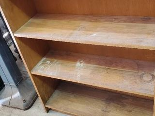 2  Oak Bookcases
