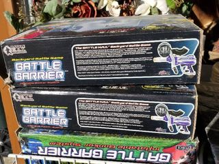 3  New In Box Paintball Battle Barriers