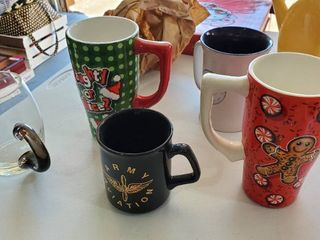 5  Coffee Mugs