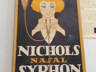 Nichols Nasal Syphon