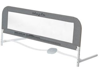 Dream On Me Security Rail For Twin Size Bed in Gray