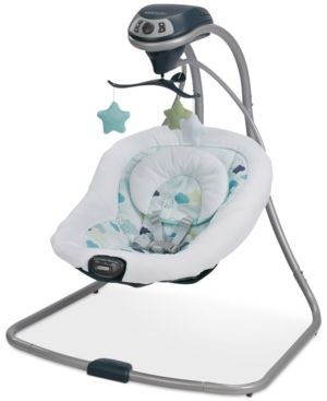 Graco Simple Sway Baby Swing  Stratus   missing instructions