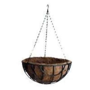 MINTCRAFT GB 4337 3l Coco lined Hanging Planter  14 Inch