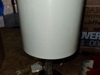 16  lamp built in extra power source cream lamp shade