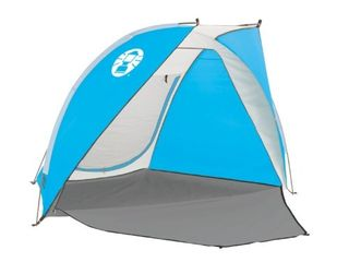 Coleman Portable Sun Shade Beach Tent with UPF 50
