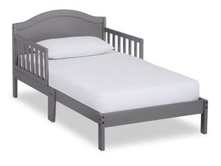 Dream on Me Sydney Toddler Bed  Steel Grey AS   IS see photos