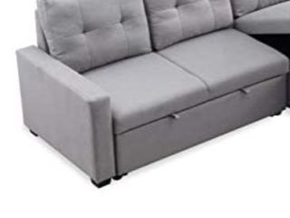 Merax Reversible Sleeper Sectional Sofa Bed two seater sleeper piece ONlY