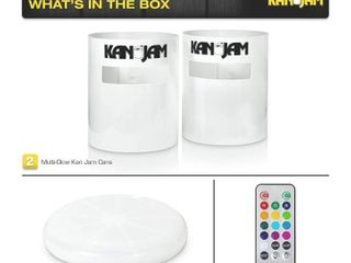 Kan Jam Portable Disc Toss Outdoor Game   Features Durable  Weather Resistant Material   Includes 2 Kan Jam Targets and 1 Flying Disc  Multiple Styles Available