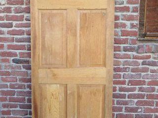 6 Panel Wood Door