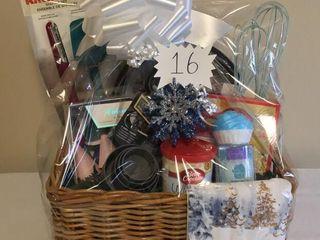 Baking delights Gift Basket