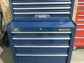 Mastercraft 5 Dr  Mechanics Toolbox with