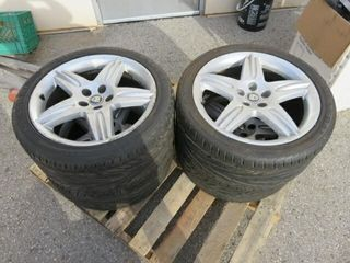 Set of Jaguar 275 35ZR18 18  Wheels