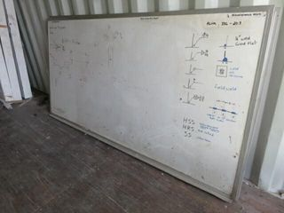 2  4 x8  Framed Whiteboards