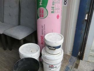 Insulation  Paint  Sandblast Sand   Coolant