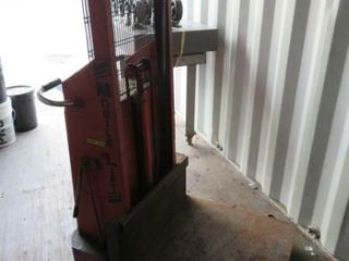Mobile lift Elec  Die lift