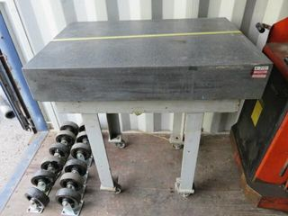Conam 24 x36  Granite Inspection Plate with Base