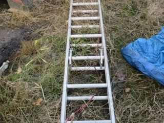 Werner 24  Alum  Ext  ladder