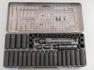 Mastercraft Maximum Impact Socket Set