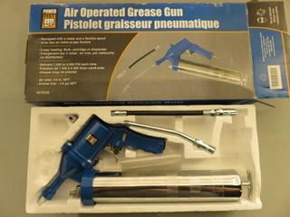 Power Fist Pneumatic Grease Gun