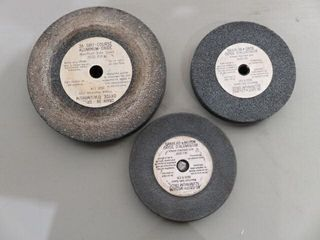 3  6    8  36 Grit Grinding Wheels