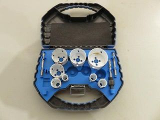 Partial Mastercraft Hole Saw Set