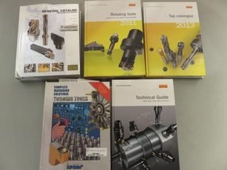 5  Assorted Hard Cover Machining Books