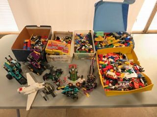 large lot of Asst  lego