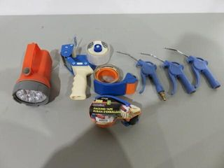 lot of Tape Guns Dispensers   Blow Guns