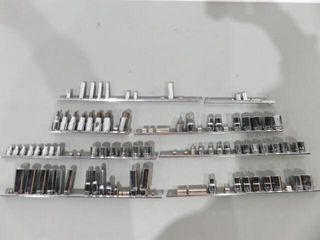 large lot of Assorted Socket Bits