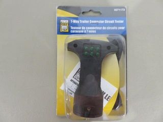 Power Fist 7 Way Trailer Circuit Tester