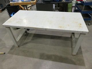 60 x28  Metal Workbench