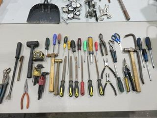 large lot of Handtools