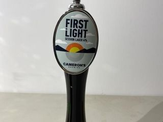 Camerons First light Beer Tap Handle