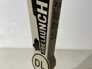 Side launch Dark lager Tap Handle
