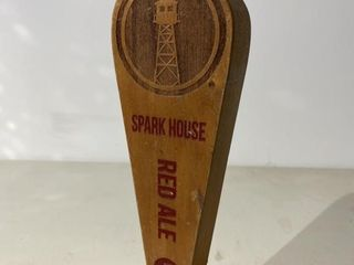 lB Spark House Red Ale Tap Handle