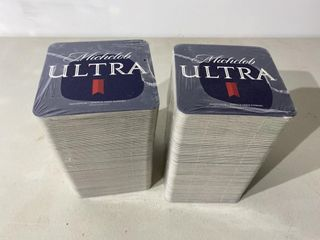 Michelob Ultra Coasters