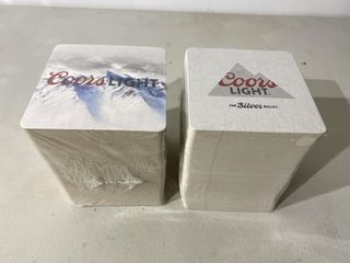 Coors light Coasters