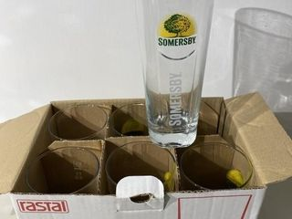 Somersby Glasses x 6