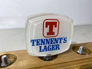 Tennents lager Beer Tap Handle