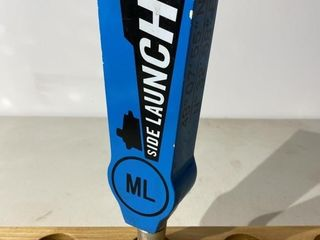 Side launch Mountain lager Tap Handle